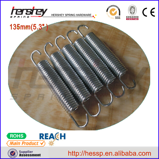 2016 hot sales return spring extension spring for electrical machines supplier