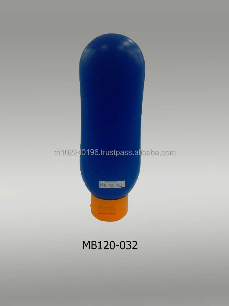 Plastic bottle for body lotion