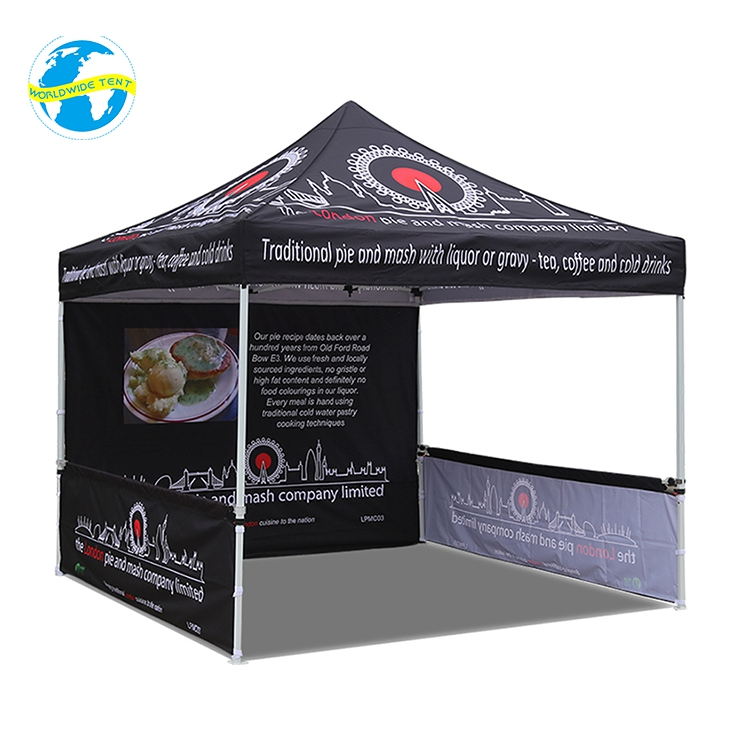 Outdoor Metal 10x10 Exhibition Commercial Canopy The Retractable Tent