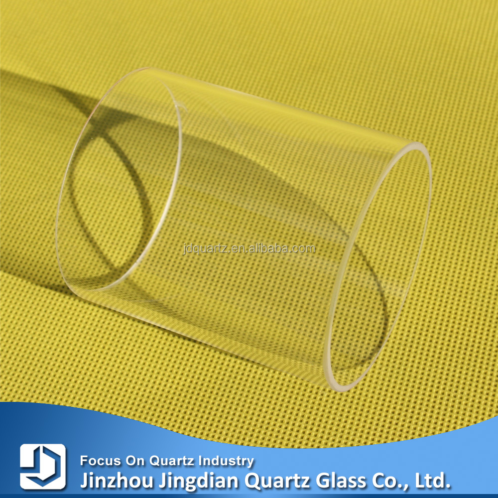 Large Diameter Quartz Glass Cylinder Tube