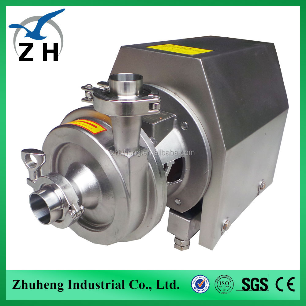 electric air blower dairy stainless steel milk pump
