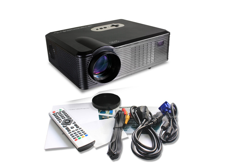 New DVB-T Projector for Home theater,Meeting room, School,Bar,KTV