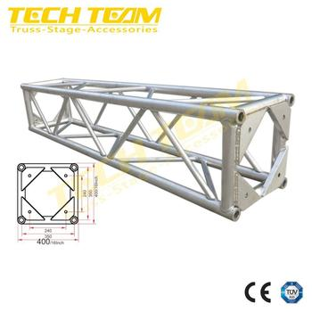 Hot Sale 400 MM/16 In DJ Stage Truss Square Box Truss