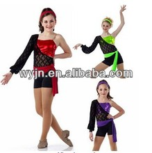 2014- -teen sequin colorful dance jazz costume - dashing women sequin jazzdance skirt wear -child&adult girl cute dance skirt