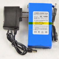 DC 12V 6800AH rechargeable portable battery pack
