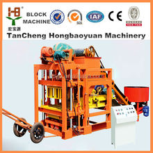paver machine for road construction/unburned brick production line QTJ4-28/paving stone moulding machine