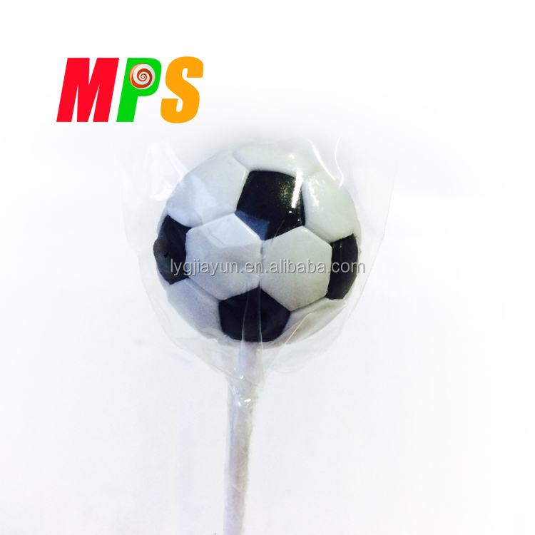 Custom Football Shape Lollipop for Sale