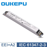 High power factor T8 4x18W electronic ballast with EMC