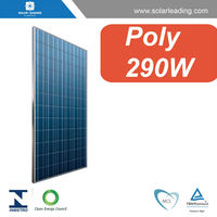 Hot sale 290w JA solar pv modules with production line solar cell for residential on grid solar energy systems