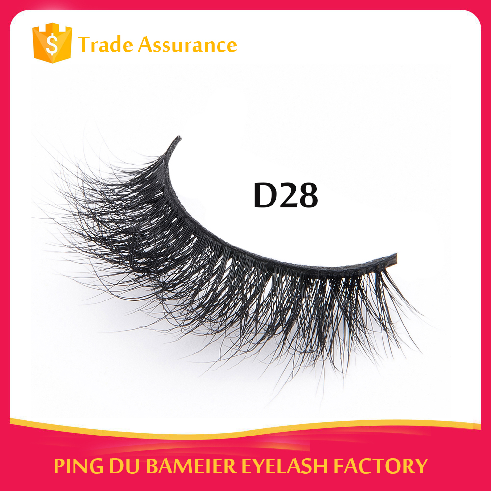 Private Logo 3D Real Mink Lashes Lash Lift Hair