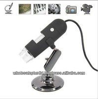 High Resolution 1.3 Mega Pixel USB Mini Digital Microscope (20x-200X)(WCS-02)