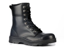 black boots and waterproof shoe covers american style military boots SC-5501