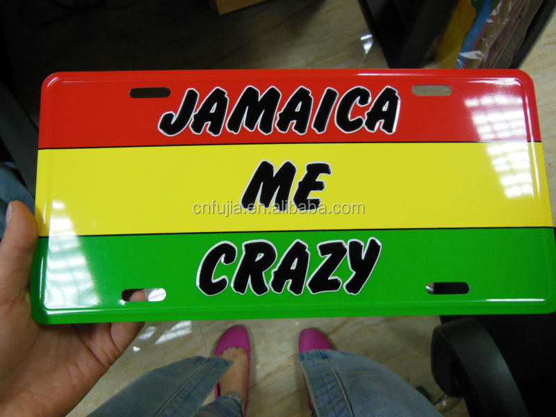 Hot sale number plate,us size car aluminum plate,license plate metal sign