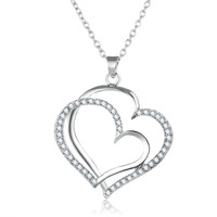 Tryme New Silver Plated Romantic Wedding