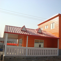 new light steel prefabricated villa modular house