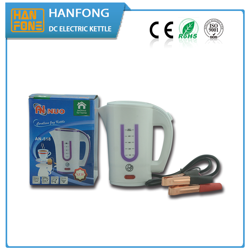 hot selling kettles CE ROHS certificate 150w 12v dc car electric water kettle