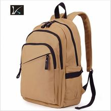 Kids top quality brand school bag/ Canvas Backpack Custom Cheap School BackPack