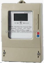 DTSY450 Three Phase Electronic Prepayment Meter With Smart IC Card BUTTON KEY BUTTON TYPE HOLLEY RUSSIA