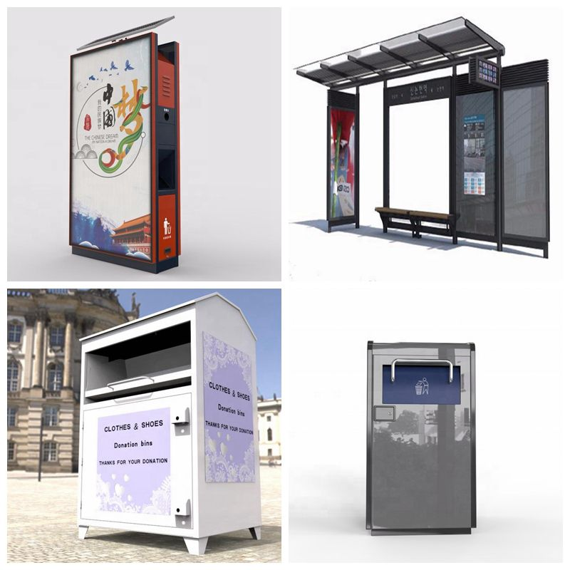 Logo customize paper donation boxes metal outdoor donation box donation metal boxes