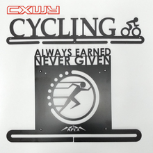 Custom Running Ras medaille display hanger