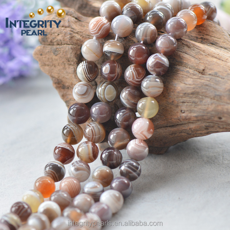 6mm 8mm 10mm 12mm 14mm 16mm multi color striped natural agate beads, Bosi agate, striped agate