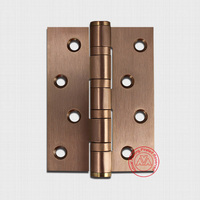 433 Solid Stainless steel Rose Gold butt door hinge