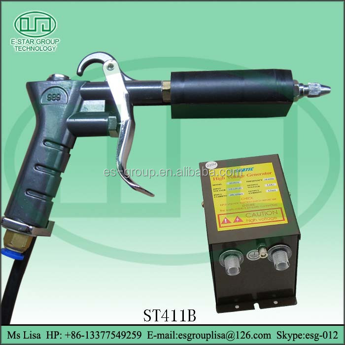 Italy Adjustable Anti-static Electrostatic Spray Gun for sophisticated electronic products