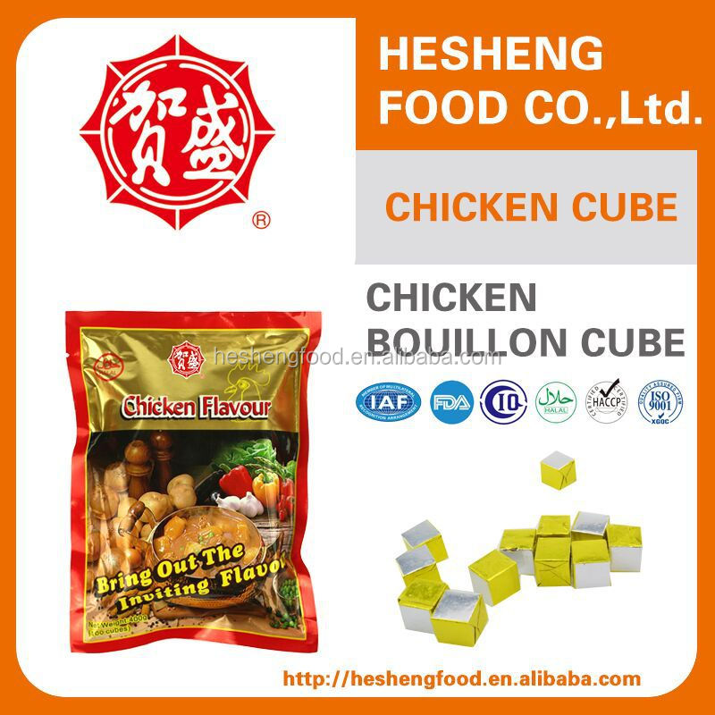 Various Specifications of mixed spices poulet cube Seasoning Cube