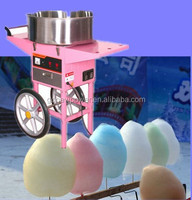 commercial cotton candy machine for sale with cart
