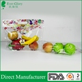 Security ventilate plastic fruit bag with zipper top