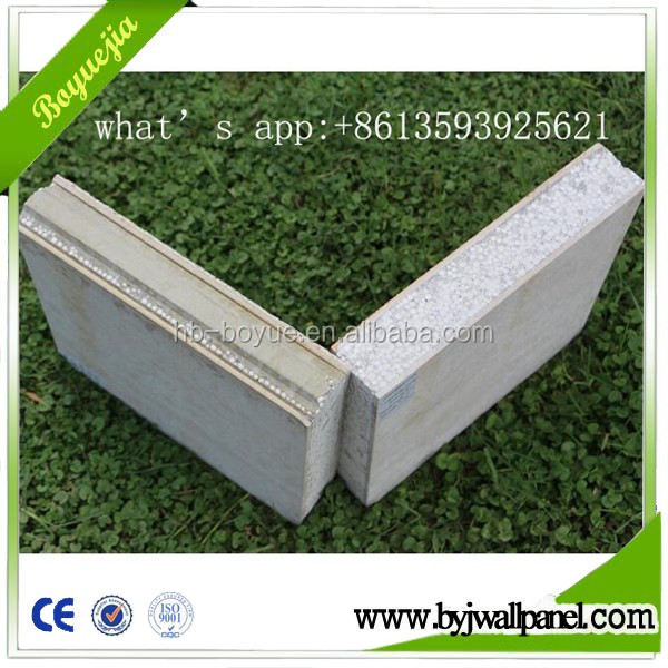Insulated precast EPS foam composite sandwich roof panels