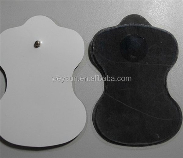 Tens breast massage electrode pads