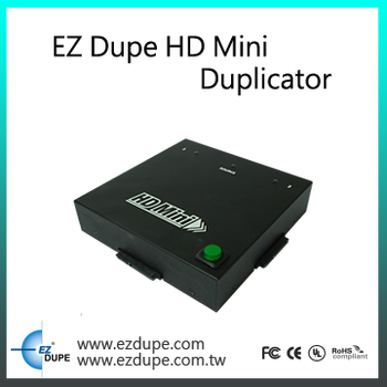 EZ Dupe Portable HD Mini 1 to 2 targets HDD Duplicator