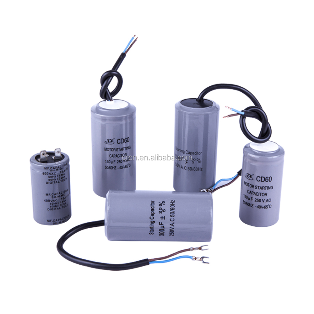 electric generator parts cd60 motor starting capacitor