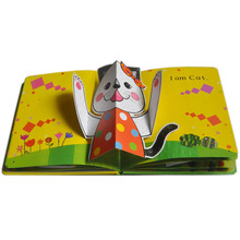 2018 New Design Pop Up Book Printing Service