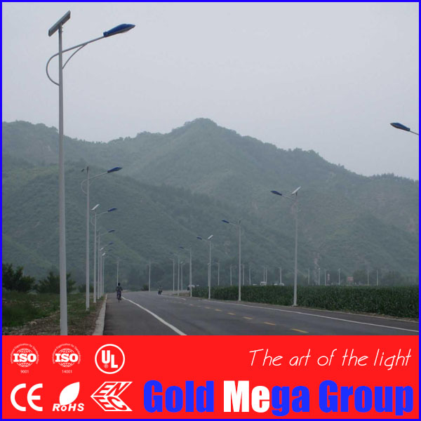 outdoor solar light 30W LED street light lamp/electric photocell LED Road light
