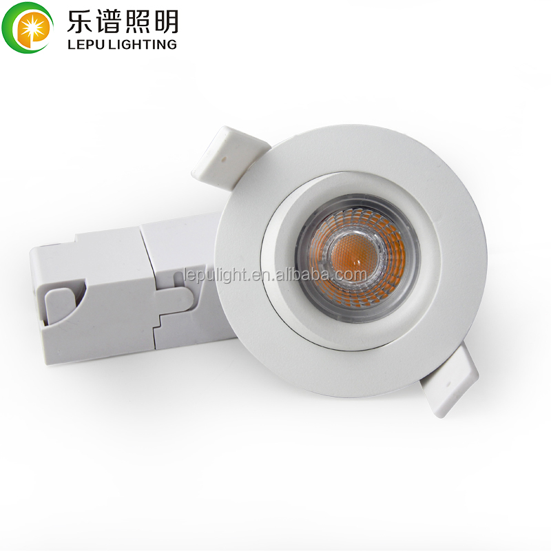 CCT Adjustable Recessed Mini 7W Led COB Downlight