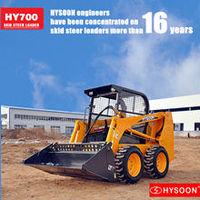 HYSOON HY700 skid steer loader