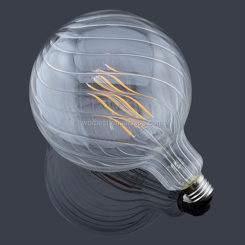 UL-listed 8W Dimmable G150 big led filament bulb