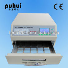 furnace smd/led wave reflow soldering machine /taian puhui/mini Reflow Oven, infrared ic heater ,bench top/station soudur T962A