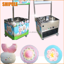 2017 new luxury cotton candy machine commercial gas electric cotton candy machine fancy drawing cotton candy