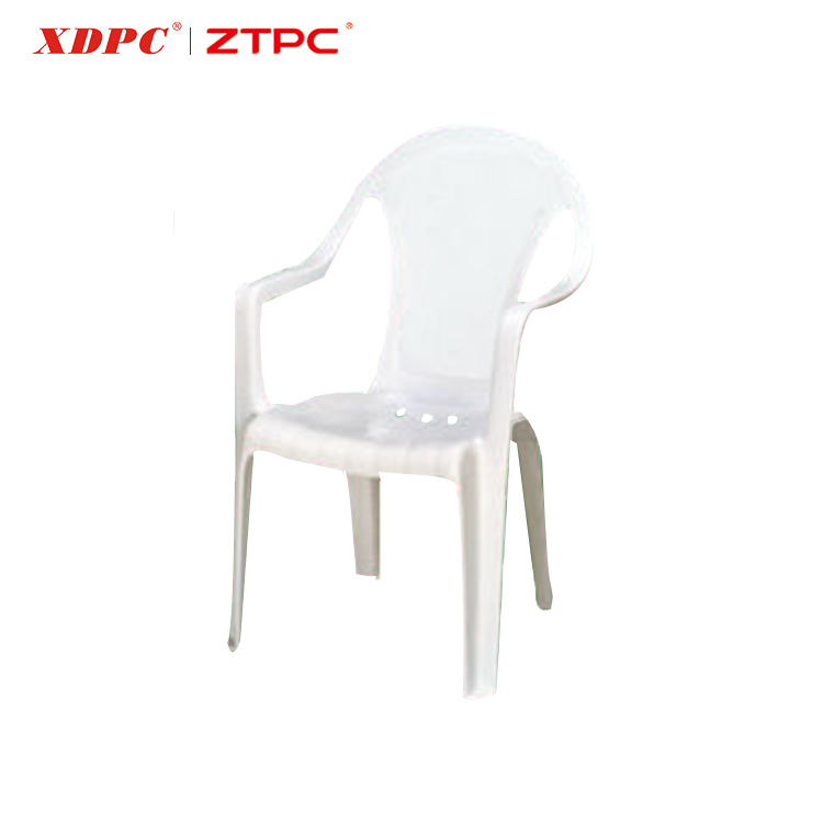 PP white cheap outdoor plastic stackable conference chair