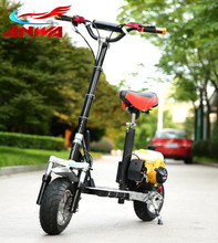 Folding 49cc Cheap Gas Scooter for Sale, 50cc Mini Gas Scooter for Adult