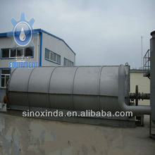 2012 NEW DESIGN HIGH QUALITY used tyre to oil refine machine