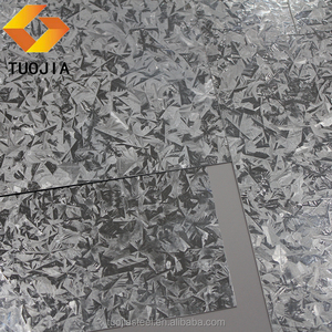 cold rolled zinc iron steel large spangle galvanized steel sheet 600-1500mm width