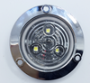 "high quality 2.5"" round led truck light with chrome frame"