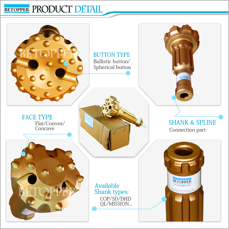 sales promotion! DTH down the hole drill bit in stock