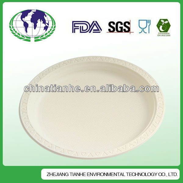 New Product Slate Stone Food Plate Disposable 8 Inch Paper Food Plate