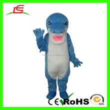 OEM&ODM Hot Sale Super Soft Adults Blue Shark Costume For Concert Attire
