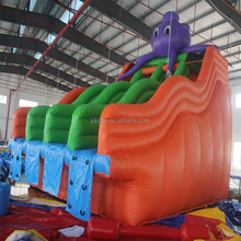 New design cheap PVC material giant inflatable water slide for adult